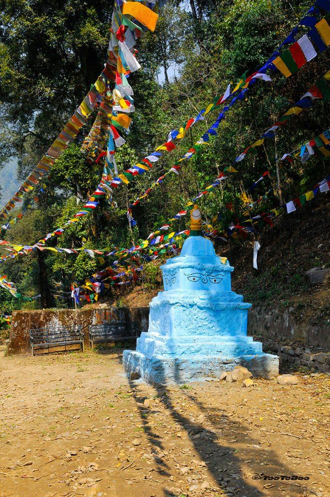 Lieux où fut couronné le premier roi du Sikkim