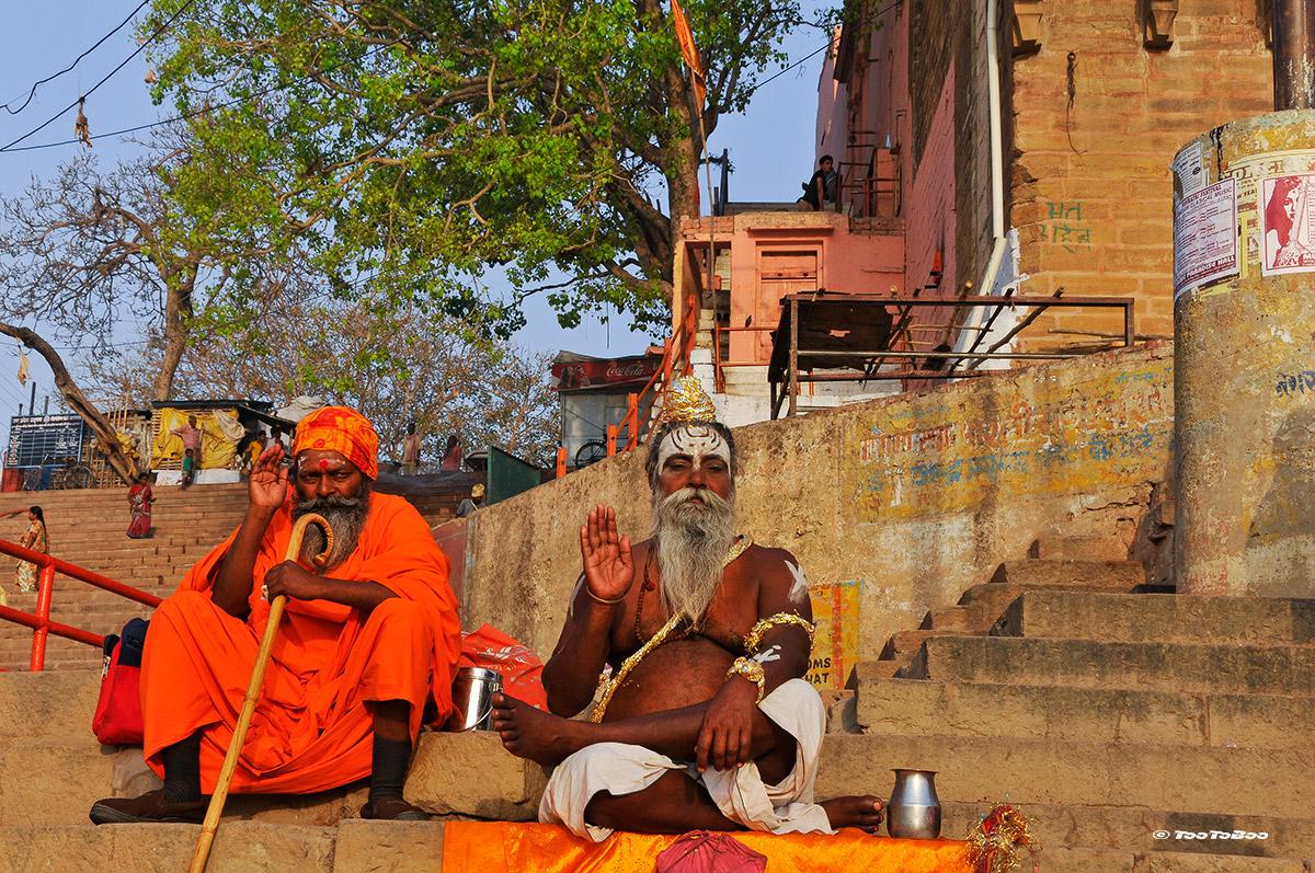 Saluts des gourous sur le Ghats