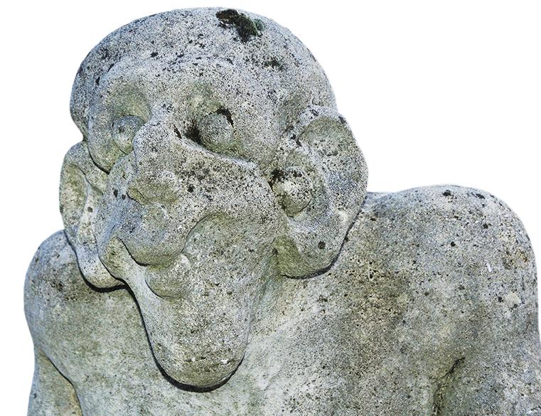 Sculpture chez un particulier en Ardèche