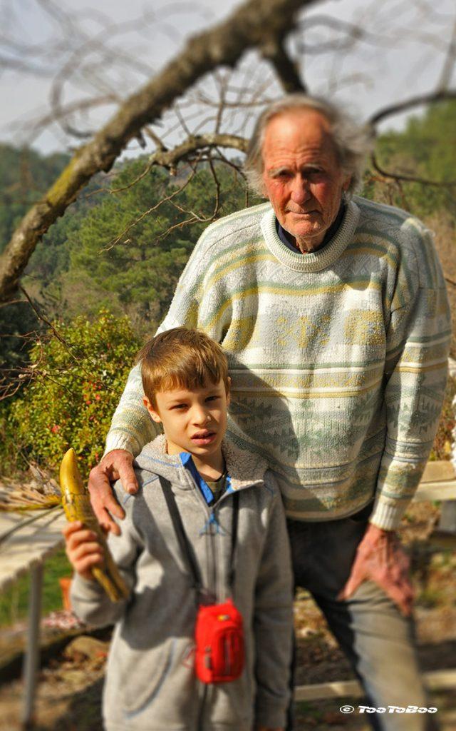 Tao et Max Grancier à Paysac en Ardèche