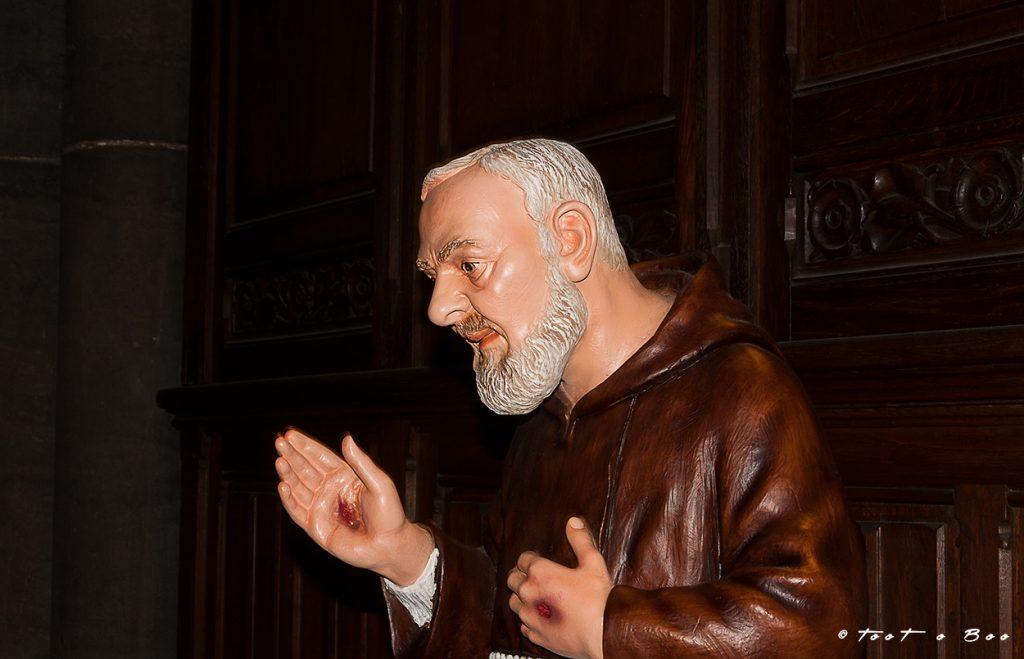 Padré Pio dans Notre Dame de la Treille à Lille