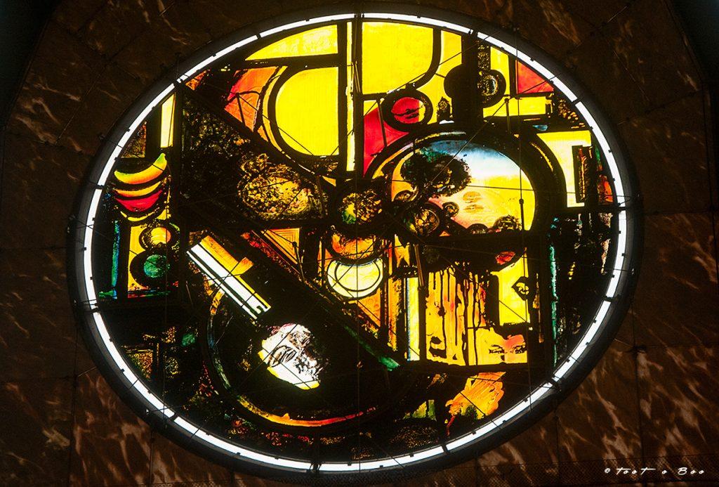 Vitrail de Notre Dame de la Treille à Lille