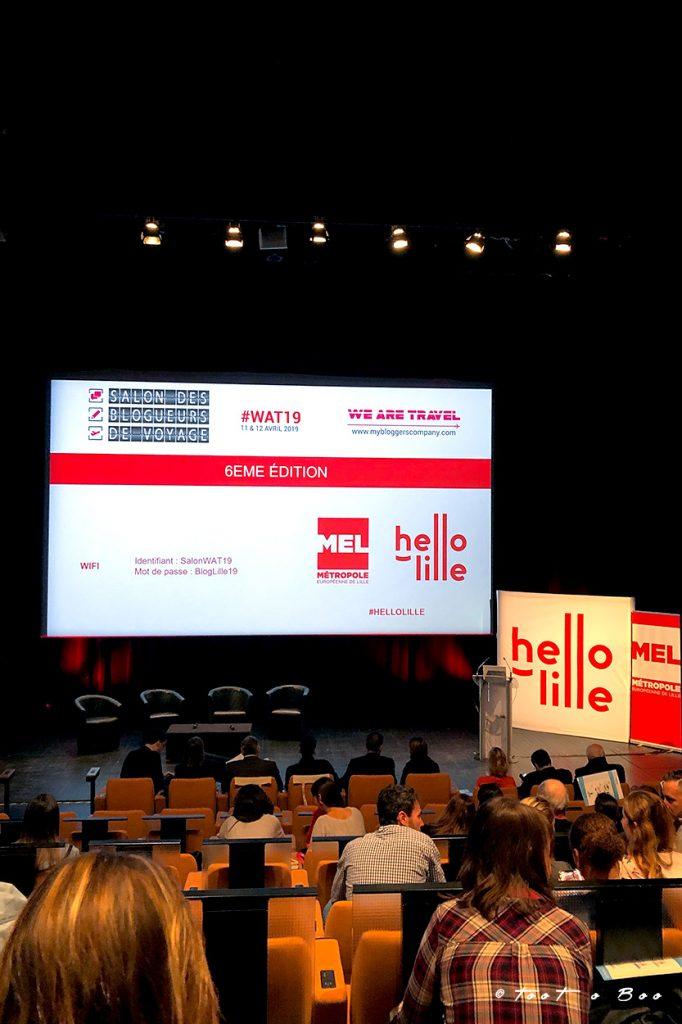 Salle de conférence au Zénith de Lille