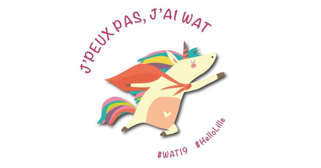 """Logo """"J'peux pas j'ai Wat"""""""