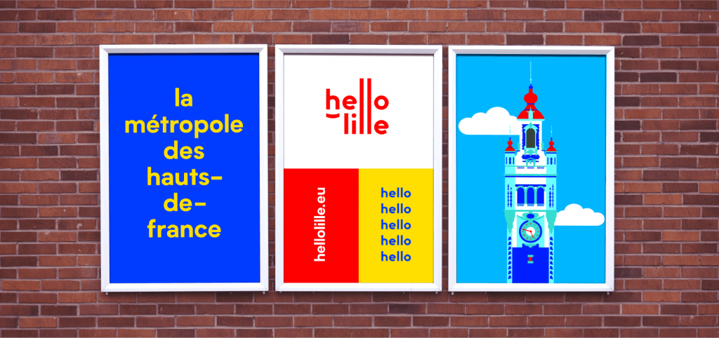 Mur Hello Lille